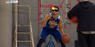 Steph Curry Strobes